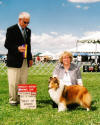 Grace 1st best of breed and 1st point